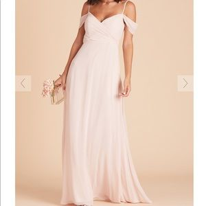 Pale Blush Convertible Bridesmaid Dress